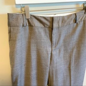Banana Republic Martin Fit Size 4 Wool Blend Taupe